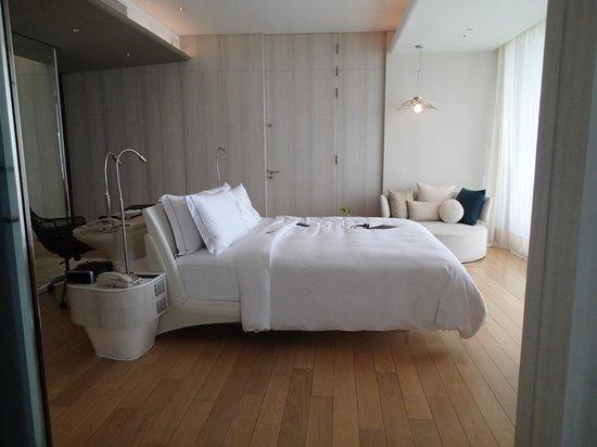 Hilton Pattaya: la chambre