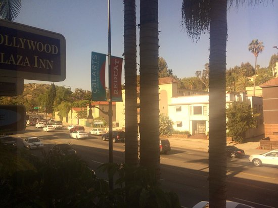 Best Western Hollywood Plaza Inn: Vista frente hotel