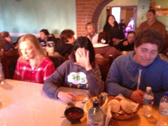 Casa Margarita's: Dining hall