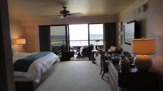 Koa Kea Hotel & Resort: Ocean front duluxe room