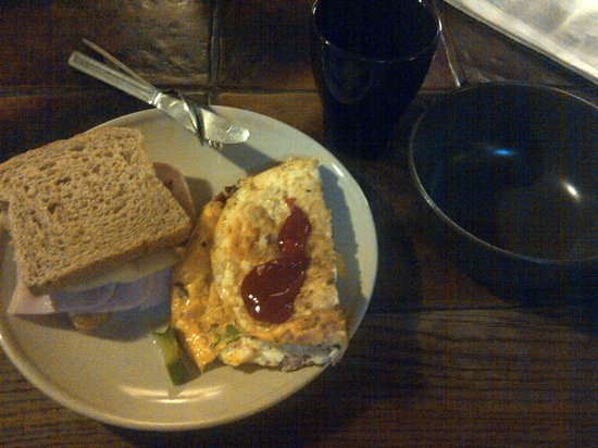 Sir Toby's Hostel : my breakfasst