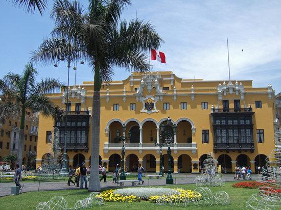 Discovering Peru: Municipalidad de Lima