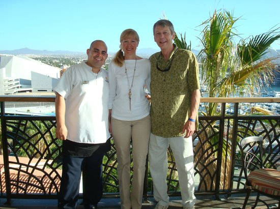 Sandos Finisterra Los Cabos : Ricardo - One of the nicest individuals and Superb waiterat Don Diego Restaurant