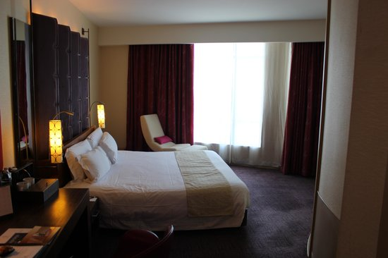 Centara Grand at CentralWorld : I took this picture on our arrival in our room