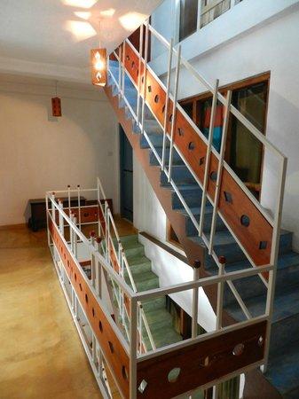 The Change: лестница в отеле
