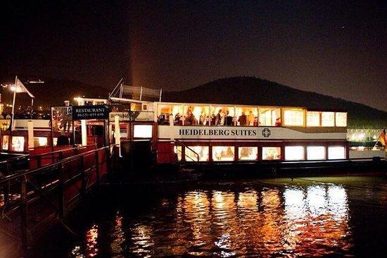 Patria Boat Restaurant at the Hotel Heidelberg Suites