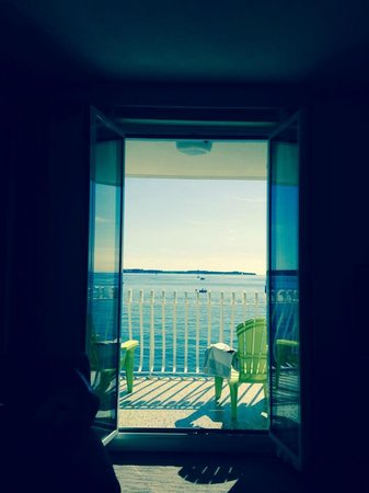 Hotel Piran: view from our room
