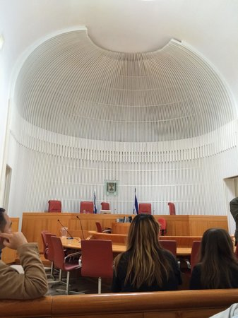 The Supreme Court of Israel : Main courtroom