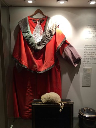 The Supreme Court of Israel : Robe worn during murder trials