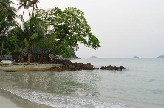 The Dewa Koh Chang : la plage