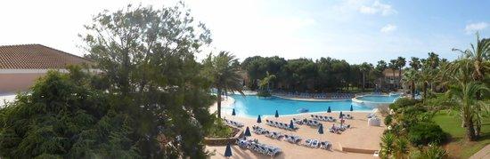 Hotel Apartamentos Princesa Playa: View from room