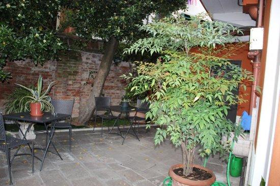 Ca' San Rocco: Внутренний дворик