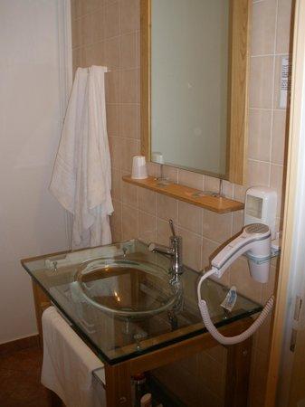 Hotel de l'Europe : lavabo original