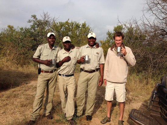 Naledi Bushcamp and Enkoveni Camp: Our drivers and trackers.