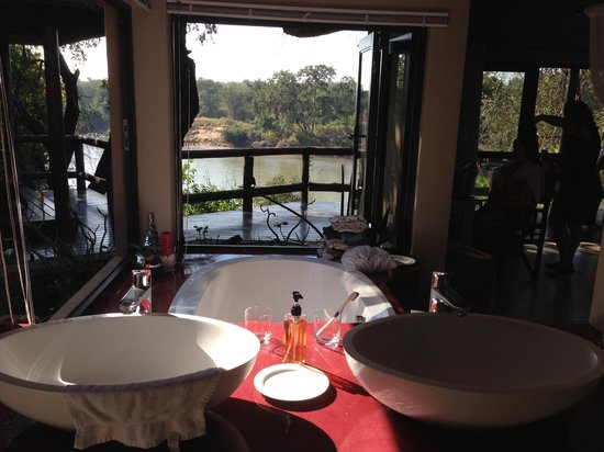 Naledi Bushcamp and Enkoveni Camp: View from the bride and grooms room.  Stunning.