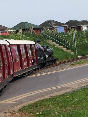Cleethorpes Coast Light Railway: Heading towards Humberston.