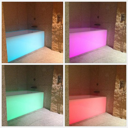 Andaz Xintiandi Shanghai: Sexy Colour Changing Bath at the Andaz