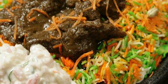 The Sizzle : IBRAHIM'S FAVOURITE BIRYANI - Soft Mutton Biryani