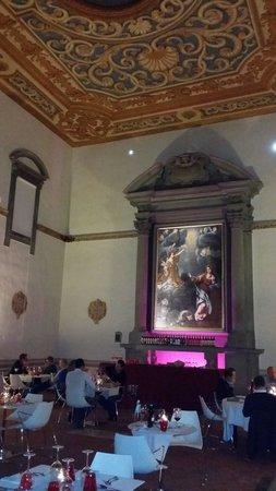Hotel San Miniato: Salle restaurant