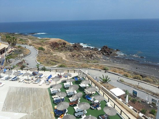 Aguamarina Golf Apartments: view from room 506