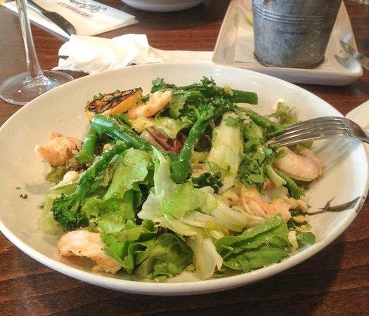 Zizzi - Earls Court : Салат с креветками