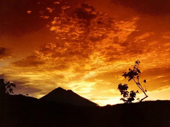 San Marcos, Guatemala: Tacaná von Finca Maravillas aus
