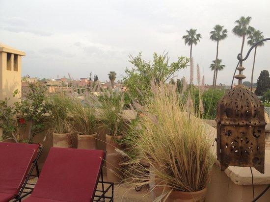 Dar Lalla F'dila : Sur la terrasse du Riad