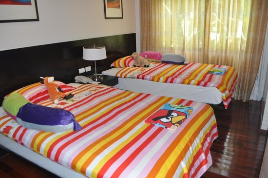Swissotel Resort Phuket Kamala Beach: Kids room setup