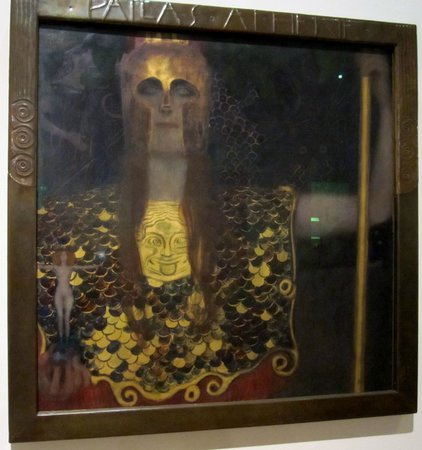 Vienna Museum: Wein Museum - Klimt Athena
