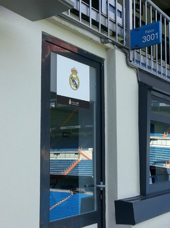 Estadio Santiago Bernabéu: tv room