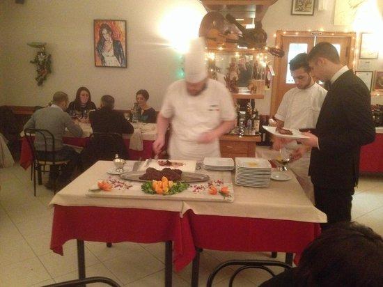 Ponterosso : Chef in sala