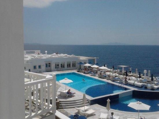 Petasos Beach Hotel & Spa : vista dalla camera