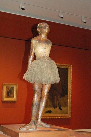 Ny Carlsberg Glyptotek : La bailarina de Degas