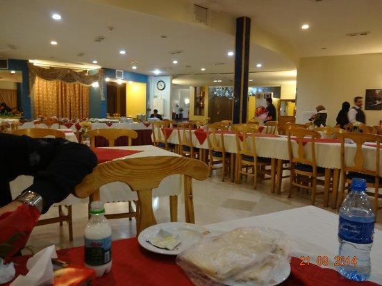 Zagros Hotel: Restaurant!
