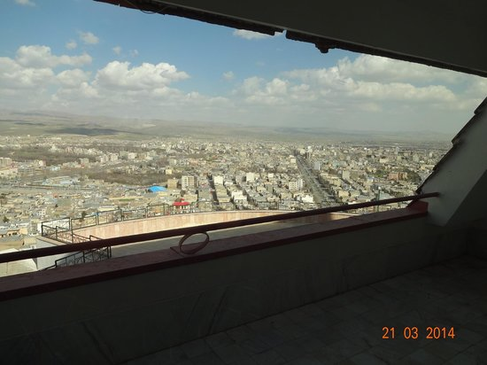 Borujerd, Iran: View from the suit!