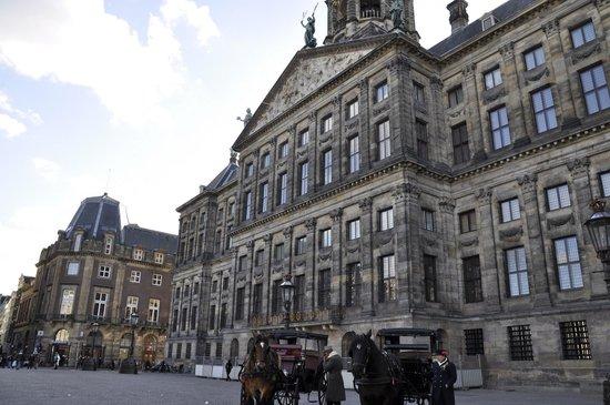 Paleis op de Dam (Königlicher Palast): palacio real amsterdam
