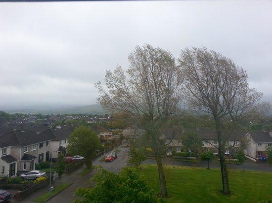 Abberley Court: Desde la ventana de la habitación.