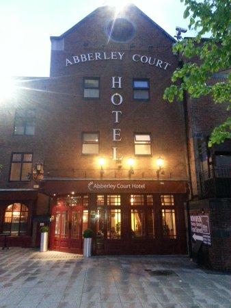 Abberley Court: Fachada del hotel.
