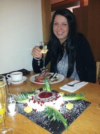 O'Callaghan Stephen's Green Hotel: Enjoying birthday breakfast