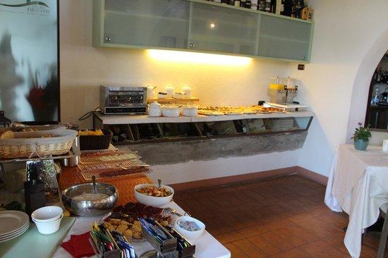 Locanda Sant'Agata: завтрак