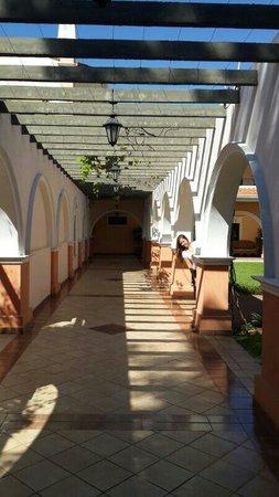 Le Moustier Suites: Pasillos del hotel