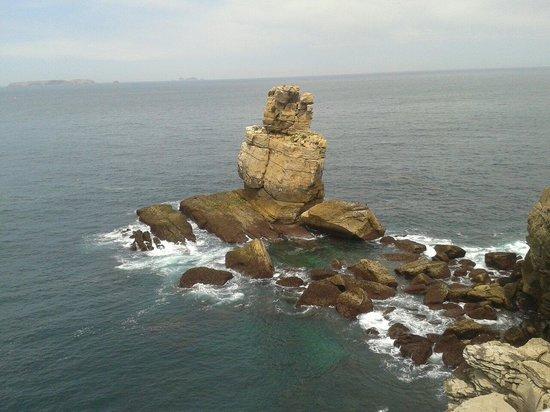 Hotel PINHALmar: Vista desde Cabo Carvoeiro cerca del hotel