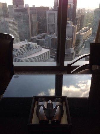 Mandarin Oriental, Tokyo: Вид днем