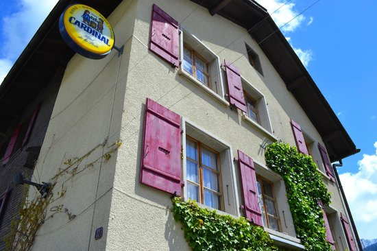 Hôtel de la Poste : Façade de l'hôtel