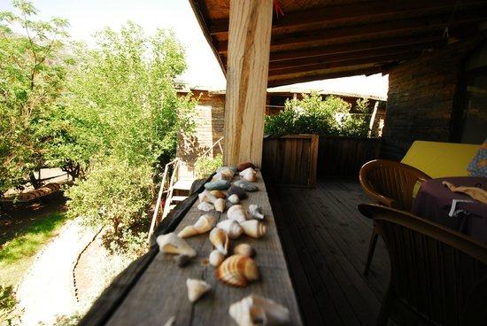 Sima Peace Pension: Blick vom Balkon