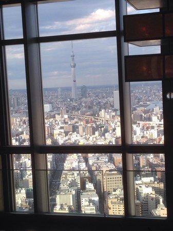 Mandarin Oriental, Tokyo: Вид из лобби