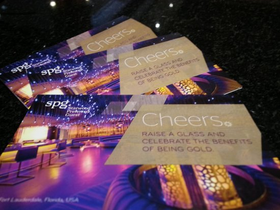Sheraton Music City Hotel : 3 x $15 drink coupons for SPG Gold Members