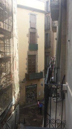 MapaMundo Barcelona: View heading out towards main city centre