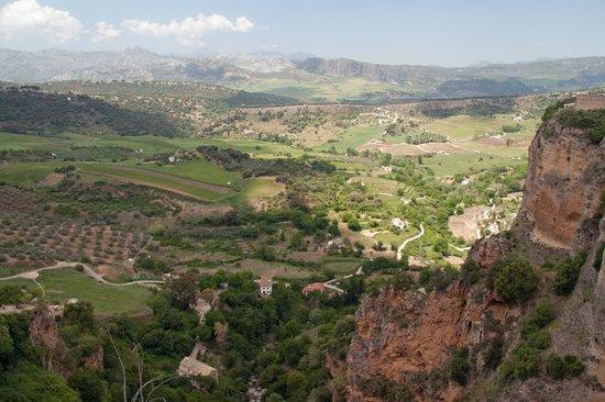 Cortijo de Las Piletas : Utsikt fra Ronda