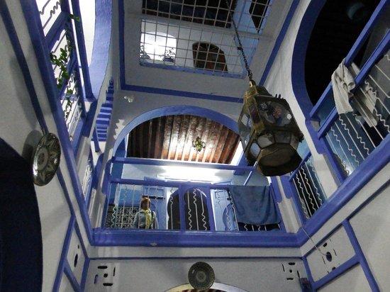 Hotel Mauritania: depuis la cour